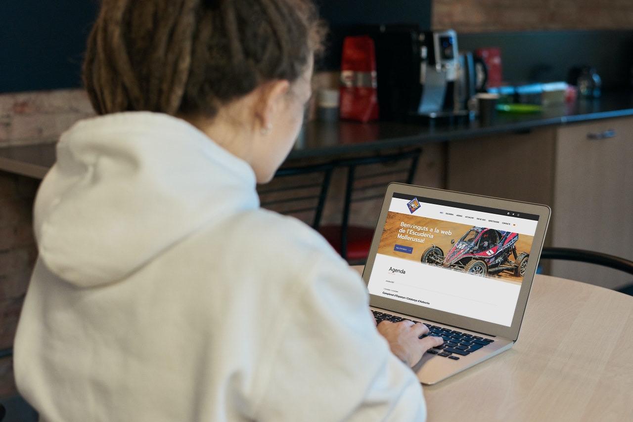 Pàgina web de l'Escuderia